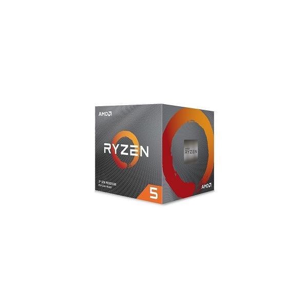 AMD Ryzen5 3600XT With Wraith Spire cooler(6C12T3.8GHz95W)100−100000281BOX
