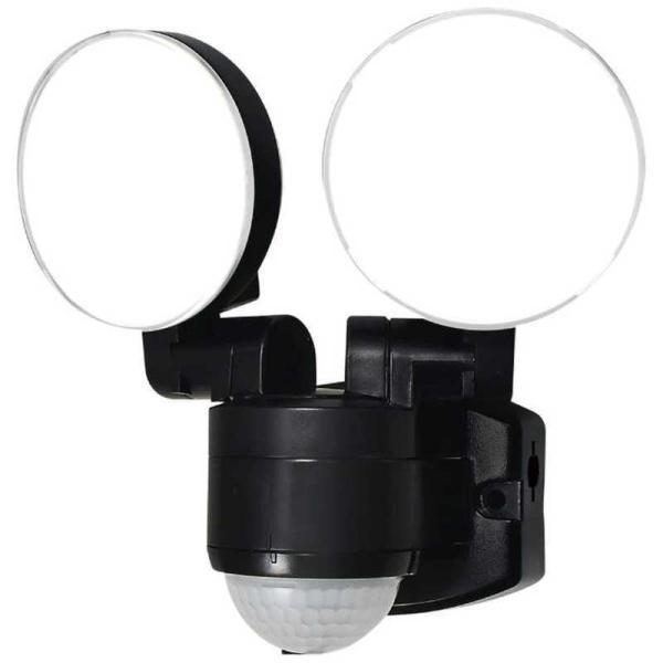 ELPA 屋外用LEDセンサーライト AC電源 2灯 ESL-SS412AC [白色 /コンセント式]