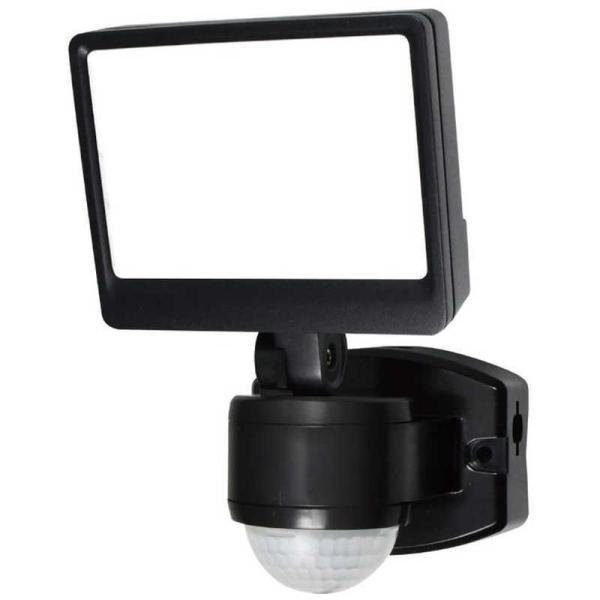 ELPA 屋外用LEDセンサーライト AC電源 1灯ワイド ESL-SS421AC [白色 /コンセント式]