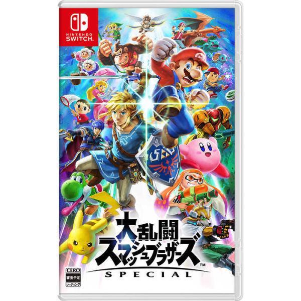 任天堂NintendoSWITCHゲームソフト大乱闘スマッシュブラザーズSPECIAL