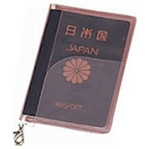 JTB SWT パスポートカバー クリア ピンク 0302610(ピン