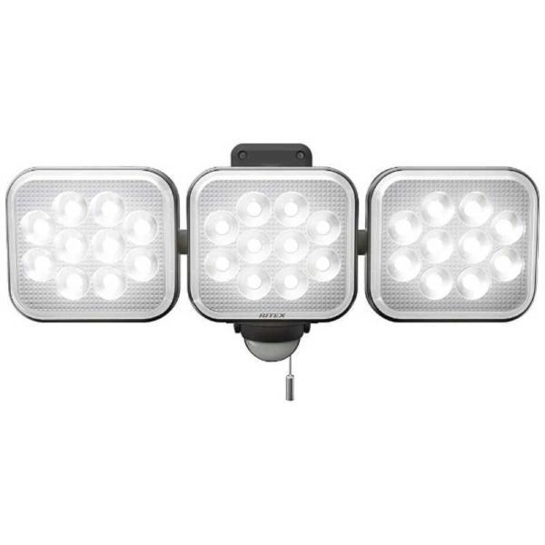 ライテックス 12W×3灯フリーアーム式LEDセンサーライト CAC36