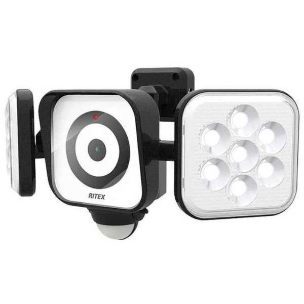 ライテックス LEDセンサーライト付防犯カメラ YC160
