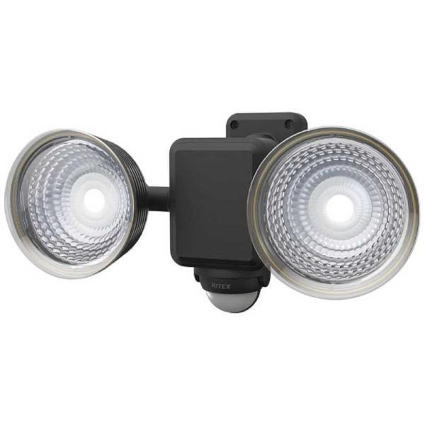 ライテックス 1.3W×2灯フリーアーム式LEDソーラーセンサーライト CSC40