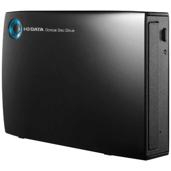 IOデータUSB3.0接続外付けDVDドライブ(ブラック)DVR‐UT24EZ