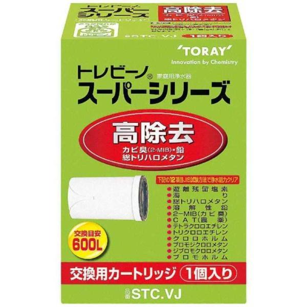 東レ高除去タイプ交換カートリッジ「トレビーノスーパーシリーズ」(1個入り)STC.VJ