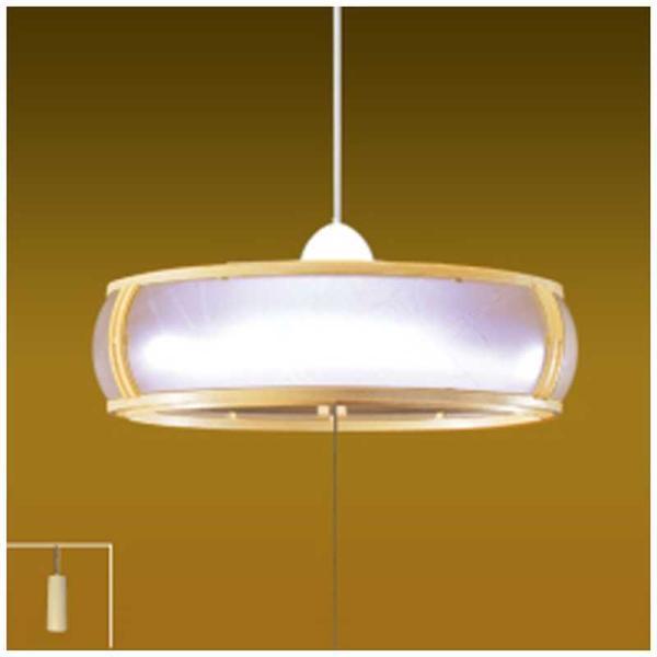 瀧住LED和風ペンダントライト(〜8畳)昼光色RV80065