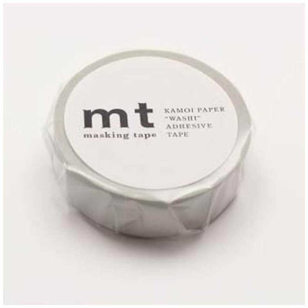 カモ井加工紙 「マスキングテープ」mt 1P パステルグレー MT01P312