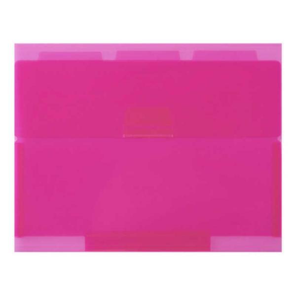セキセイ ネオンワン ルーズリーフケースB5 NE-5435-21 ピンク(PK)