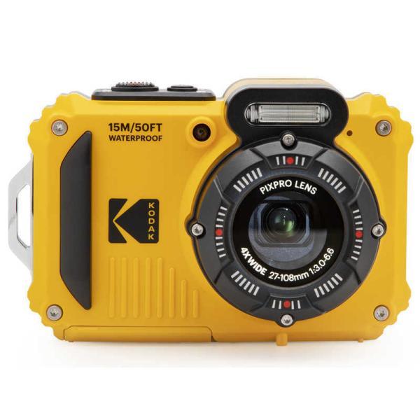  コダック コンパクトデジタルカメラ【防水+防塵+耐衝撃】 スポーツカメラ PIXPRO イエロー …