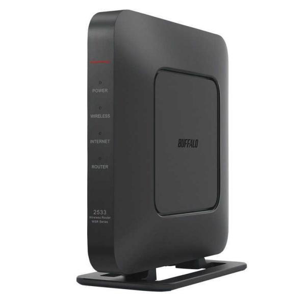 BUFFALO 無線LAN親機 11ac/n/a/g/b 1733+800Mbps ブラック ブラック WSR-2533DHPL2-BK