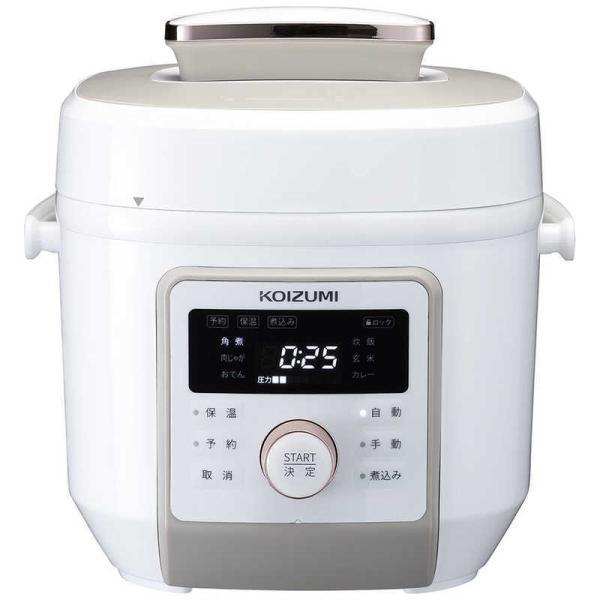 コイズミKOIZUMIマイコン電気圧力鍋KSC4501W