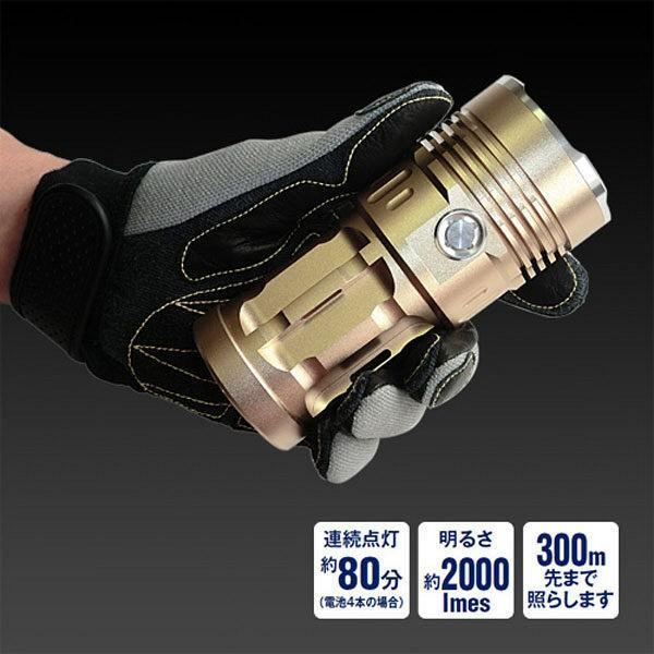 10WハイパワーLEDライト EH2000 アイガーツール (直送品)