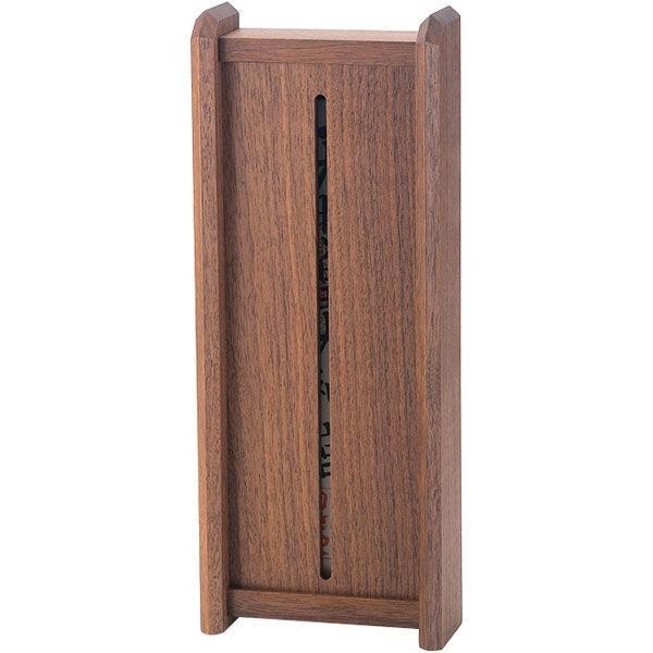 静岡木工 神棚の里 モダン神棚 Kagari かがり 幅125×奥行50×高さ310mm ウォールナット 1台(直送品)