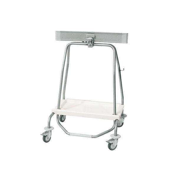 アズワン 足踏み式バッグホルダー 4輪 70L SHUT70 1個 7-4859-02(直送品)