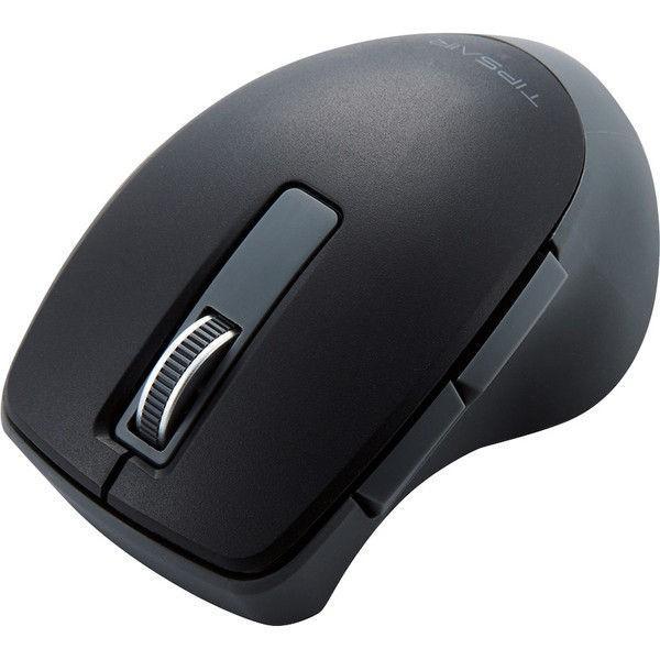 エレコム Bluetooth(R)静音5ボタンBlueLEDマウス M-TP20BBSBK ブラックの画像