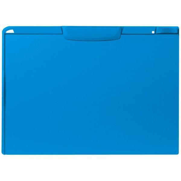 アスクル バインダー クリップボード A3横 ブルー 青 5枚