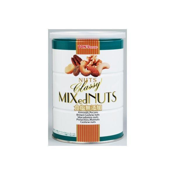 東洋ナッツ食品 食塩無添加クラッシー 360g缶 1個