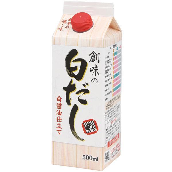 創味 創味の白だし 白醤油仕立て 500ml