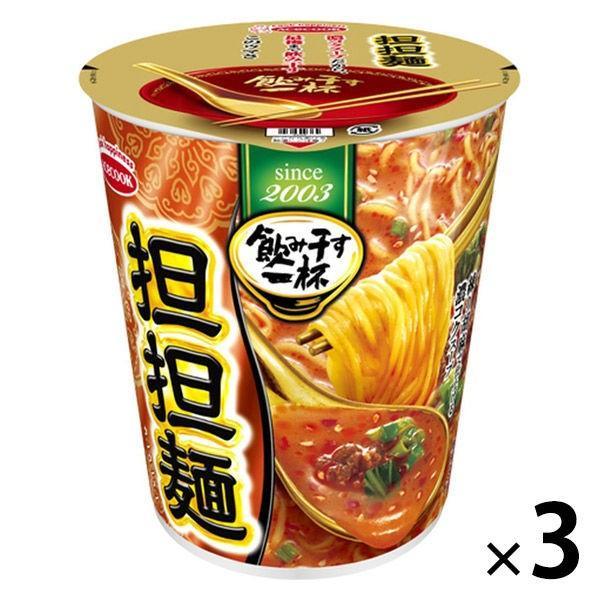 エースコック タテ型飲み干す一杯 担担麺 76g 1セット(3食入)