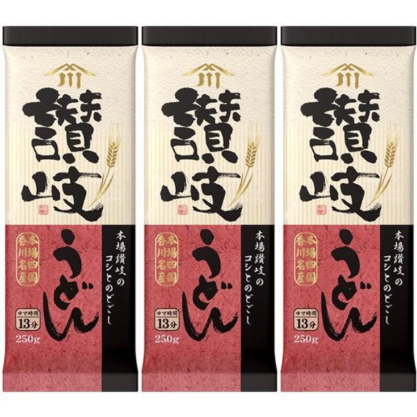 川田製麺 讃岐うどん (250g) ×3個