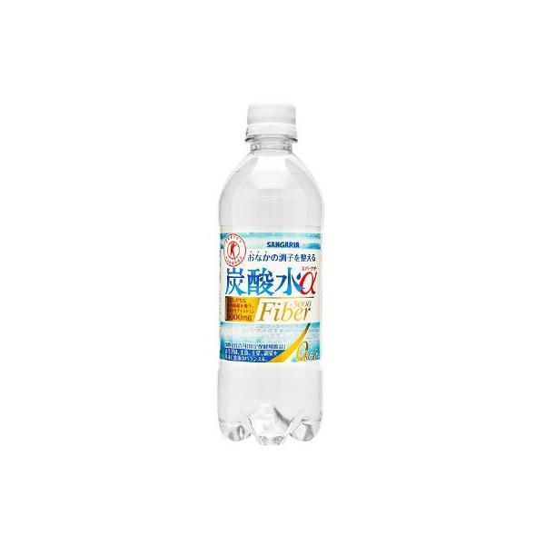 トクホ・特保サンガリア炭酸水α500ml1箱(24本入)