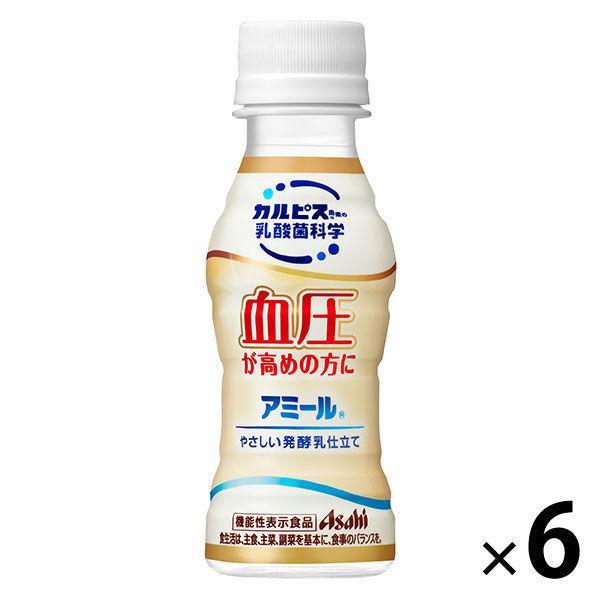 アサヒ飲料 カルピス アミール やさしい発酵乳仕立て 100ml 1セット(6本)
