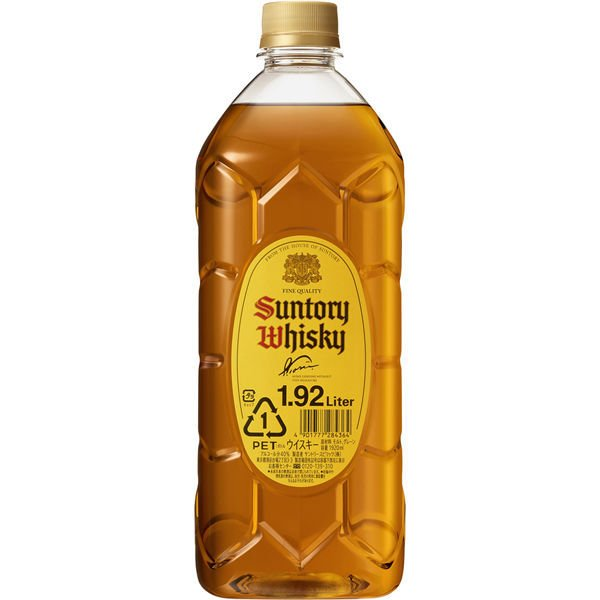 (サイバーサンデー対象)サントリー ウイスキー 角瓶 1.92L (1920ml) ペットボトル ウイスキー