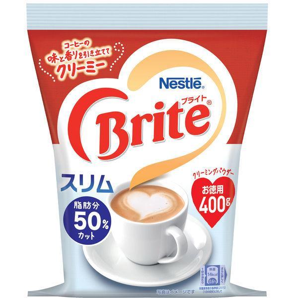 ネスレ ブライト スリム 袋 1袋(400g)【コーヒーミルク】
