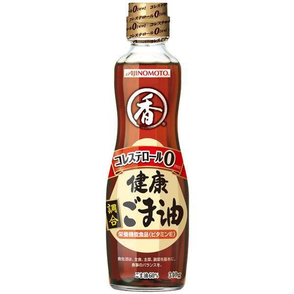 Jオイルミルズ 味の素 健康 調合ごま油 340g 1本