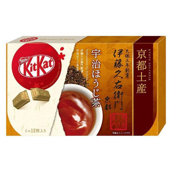 ネスレ日本 キットカット ミニ 伊藤久右衛門 ほうじ茶 12枚 1箱 チョコレートギフト バレンタイン ホワイトデー