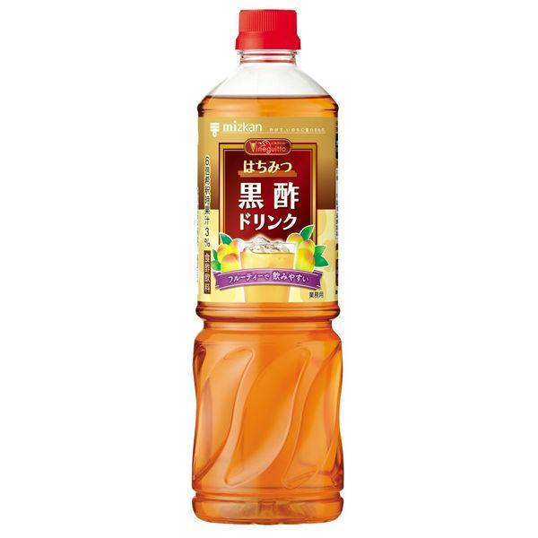 ミツカン ビネグイットはちみつ黒酢ドリンク 6倍濃縮タイプ (業務用) 1000ml 1本