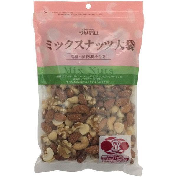 成城石井 〈成城石井オリジナル〉 食塩・植物油不使用 ミックスナッツ(大袋)1袋