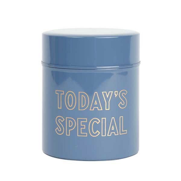 TODAY'S SPECIAL (トゥデイズスペシャル) TODAY'S SPECIAL缶 ネイビー 保存容器 キャニスター 1個