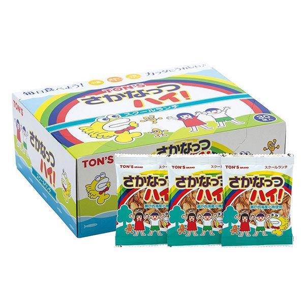東洋ナッツ食品 スクールランチ さかなっつハイ  7g×30P 1箱(7g×30P) ナッツ