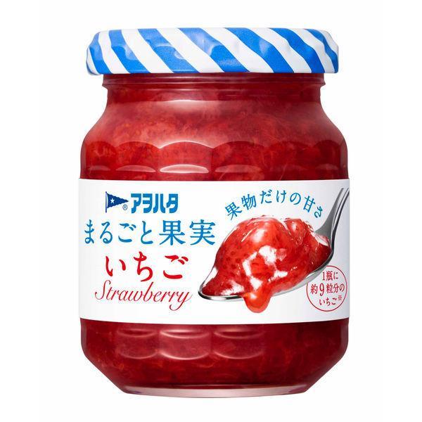 お試しサイズ アヲハタ まるごと果実 いちご 125g