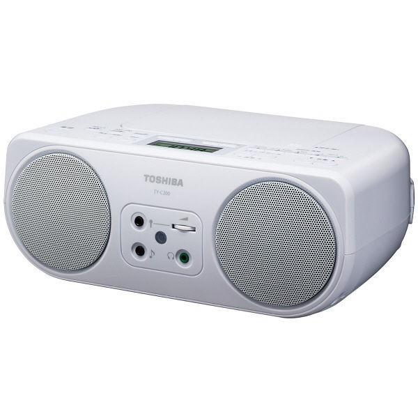 東芝 CDラジオ TY-C200-W ホワイトの画像