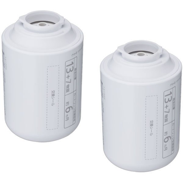 浄水器交換用カートリッジパナソニックTK-CJ23C22個入り蛇口直結型用