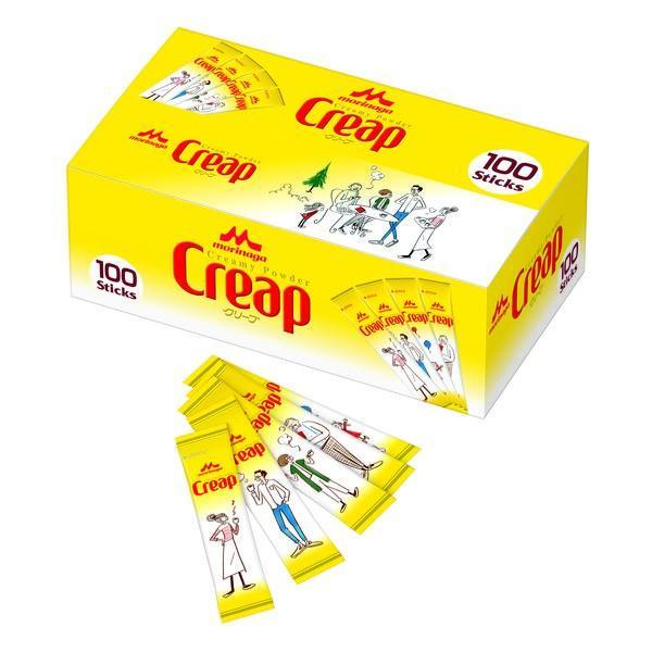 クリープ スティック 3g 1箱(100本入)【コーヒーミルク】