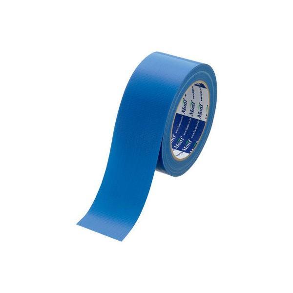 古藤工業 カラー布テープ Monf 布粘着テープ No.890カラー 0.22mm厚 青 幅50mm×長さ25m巻 1巻
