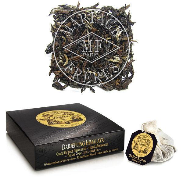 マリアージュフレール紅茶ダージリンヒマラヤティーバッグ1箱(30個入)
