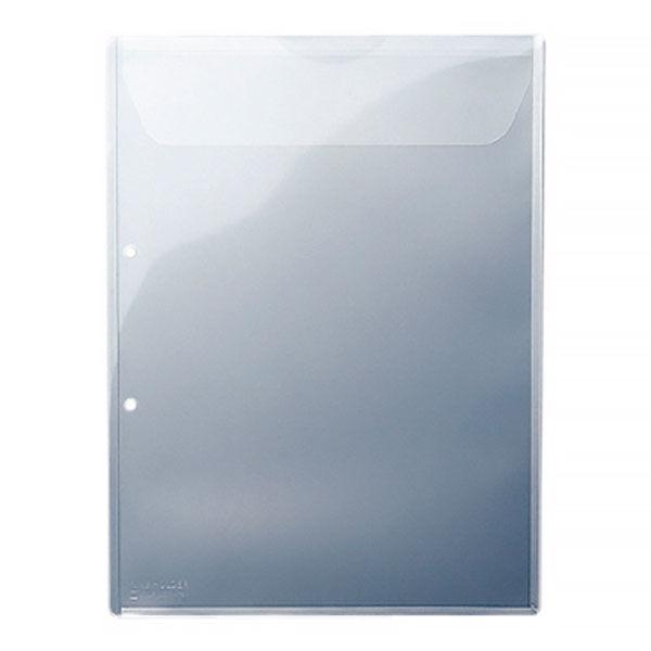 キングジム キングホルダー 封筒タイプ(マチ付き)2穴(A4) 782-10 1袋(10枚入)