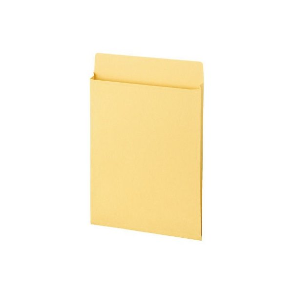 菅公工業 クラフトマチ付封筒 A4用縦型 シ787 100枚(50枚×2袋)
