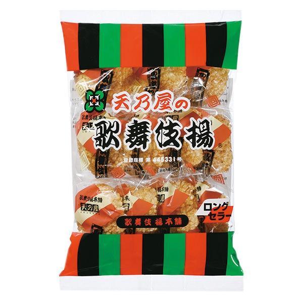 天乃屋 歌舞伎揚 11枚入り 1袋