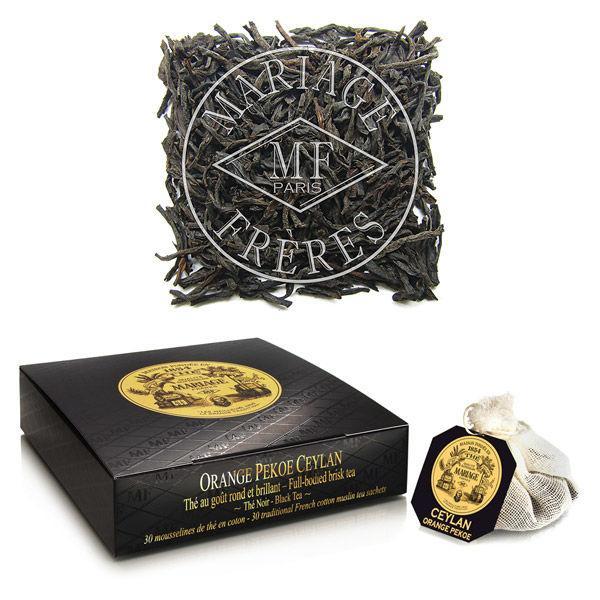 マリアージュフレール紅茶オレンジペコセイロンティーバッグ1箱(30個入)
