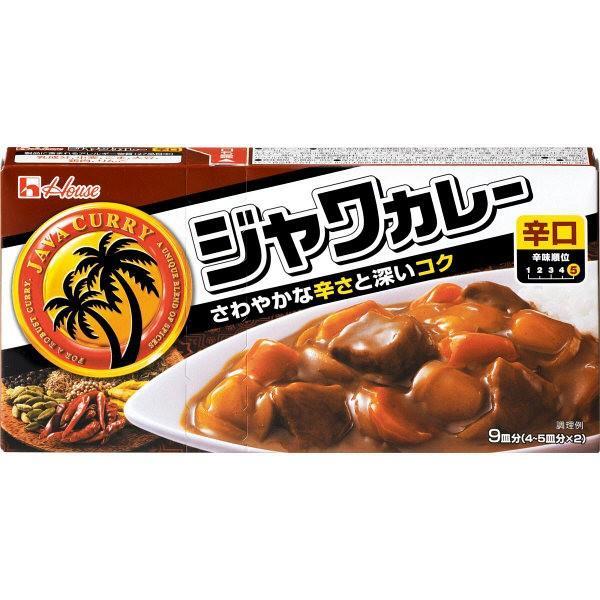 ハウス食品 ジャワカレー 辛口 185g 1個 カレールー