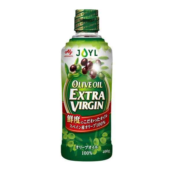 J-オイルミルズ 味の素 オリーブオイル エクストラバージン 400g 1本