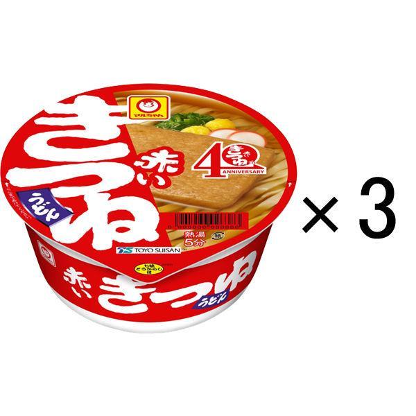 マルちゃん 赤いきつねうどん 東 96g 1セット(3食入) 東洋水産