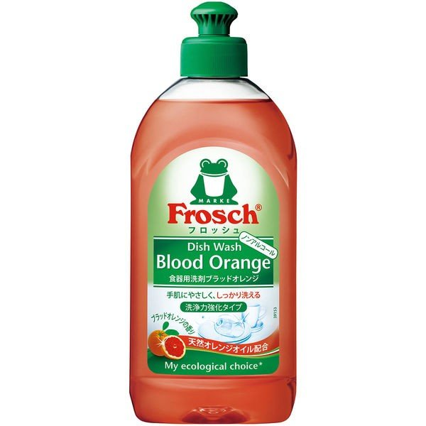 フロッシュ ブラッドオレンジ 本体 300ml 1個 食器用洗剤 旭化成
