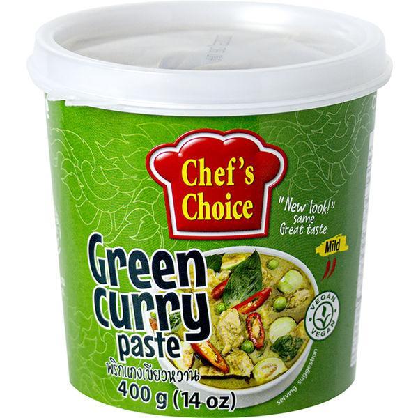 業務用 シェフズチョイス グリーンカレーペースト400g 1個 ユウキ食品 エスニック調味料